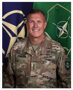 Defender Europe 2020 Lieutenant General J.T. Thomson