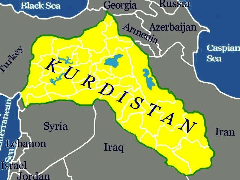 Rojava-Κουρδιστά