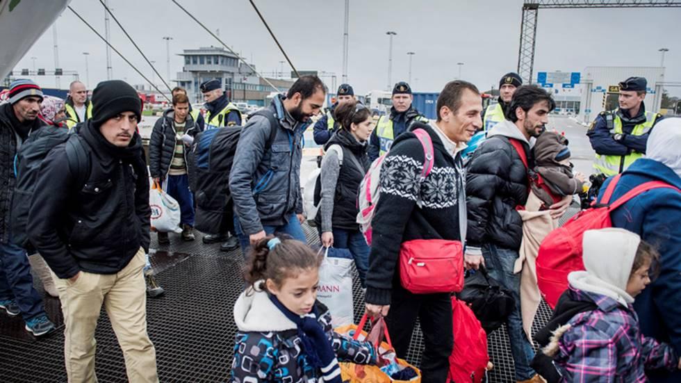 flyktingar sverige