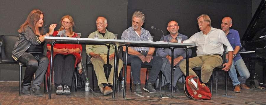 panel Αλμπέρτ Γκαρσία Φερνάντες + Τομέου Λίνα Φέρα