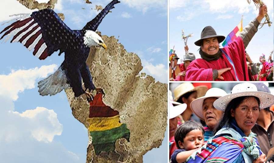 Γυναίκες Ponchos Rojos ενάντια στο πραξικόπημα