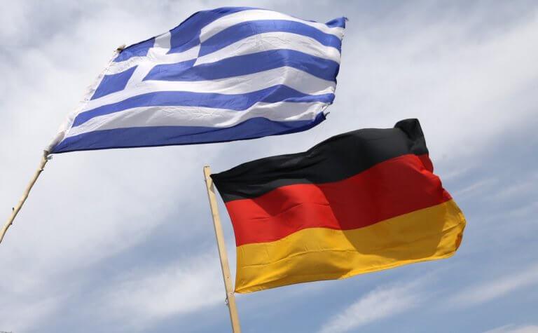 Ελληνική+Γερμανική σημαία