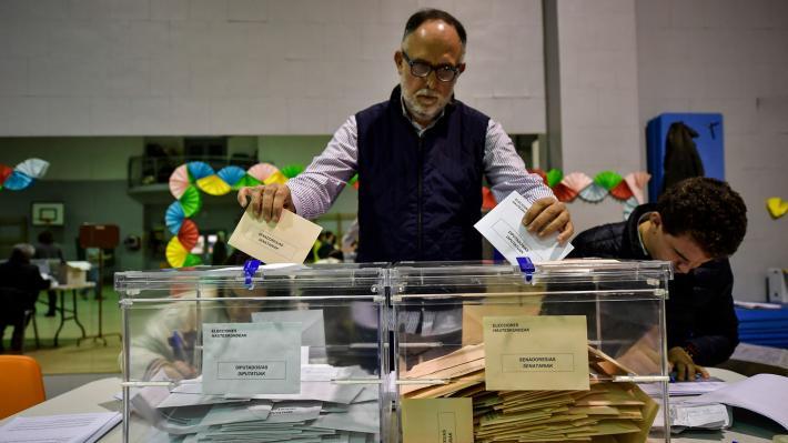 Ισπανία εκλογές 2 κάλπες