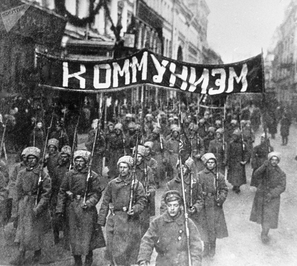Μεγάλη Οκτωβριανή Σοσιαλιστική επανάστασηоктябрьская революция
