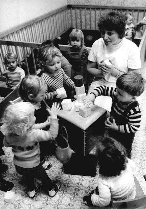 DDR Kinderbetreuung