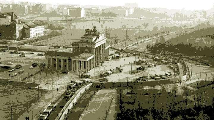 DDR Berliner Mauer