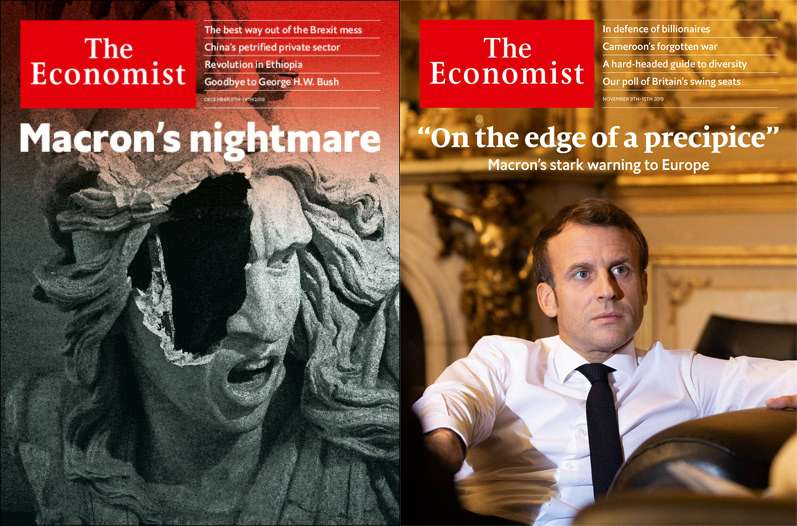 Economist Emmanuel Macron's Assessing apocalyptic vision