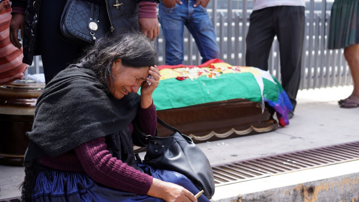 Masacre de El Alto Bolivia