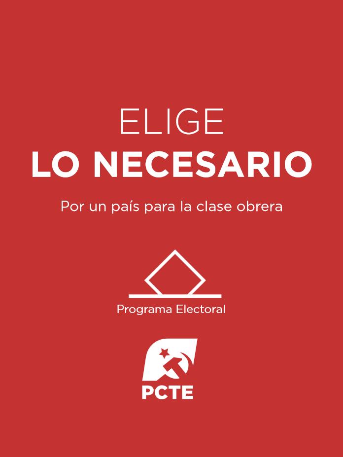 PCTE programa electoral Nov 2019