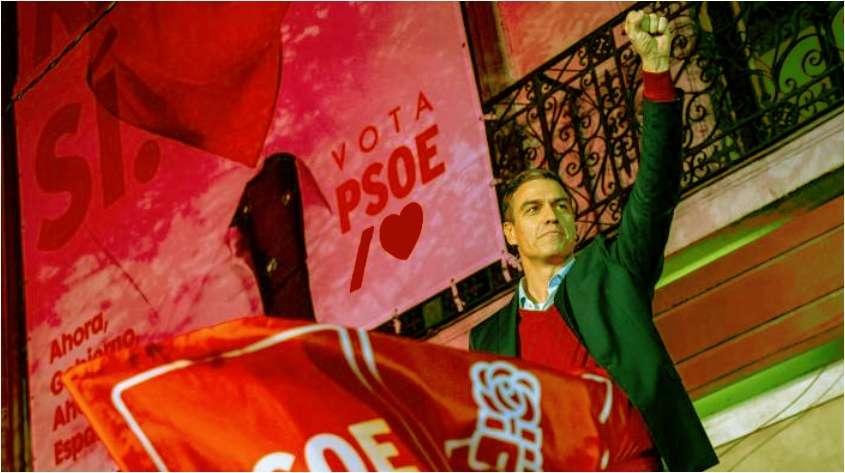 PSOE Πέδρο Σάντσεθ