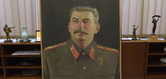 Stalin portrait