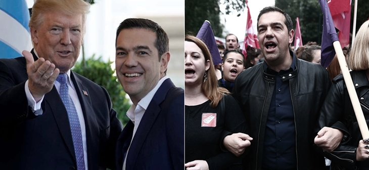 Tsipras trump polytexneio