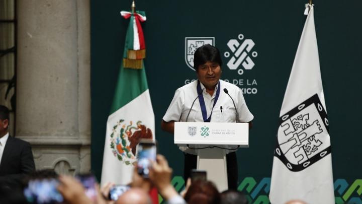 evo morales €diloseis apo to mexio