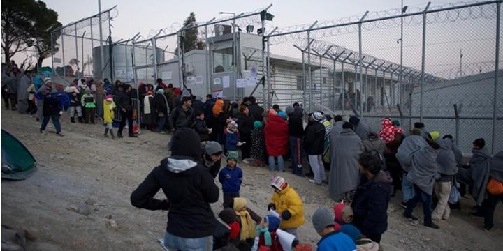 refugees moria