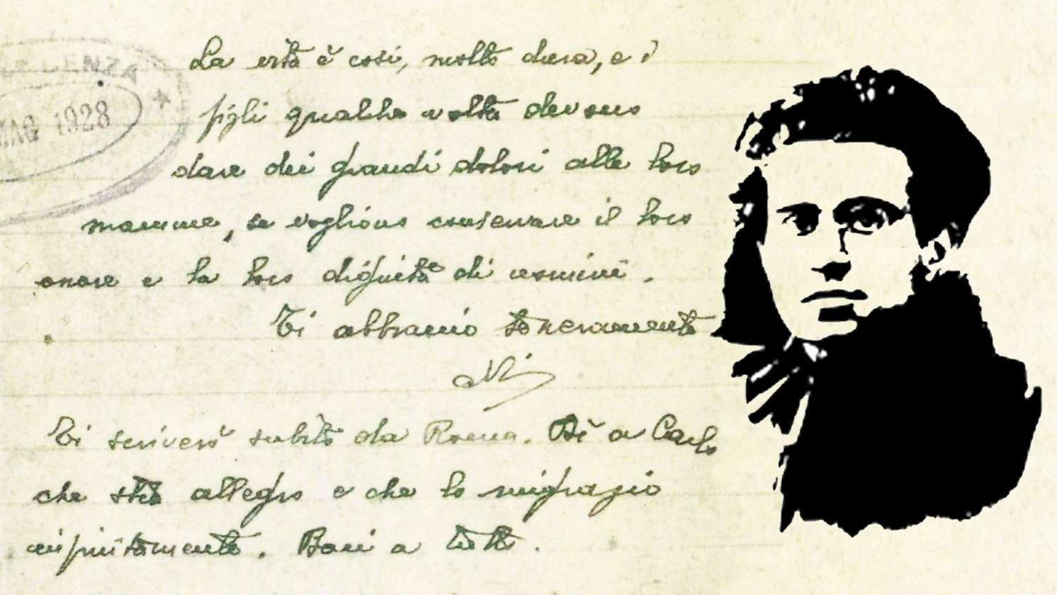 Γράμμα Antonio Gramsci Peppina Marcias