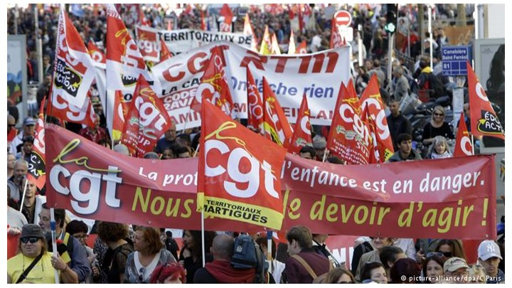 Κινητοποιήσεις Γαλλία CGT