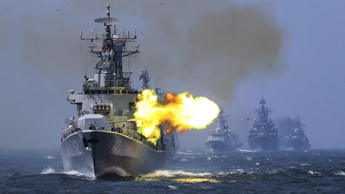 στρατιωτικές ασκήσεις Κίνα Ρωσία Ιράν