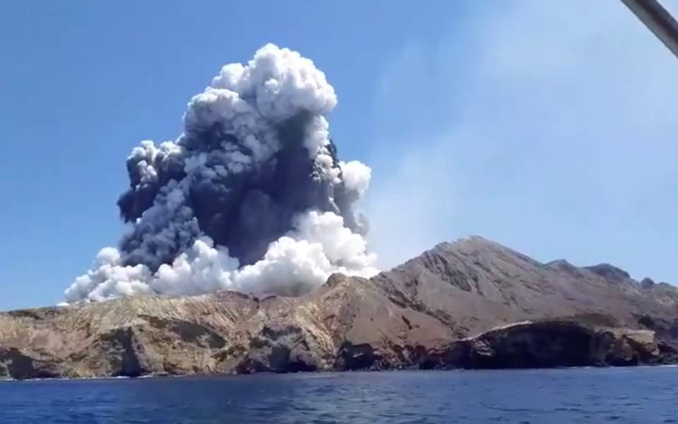 ΝΕΑ ΖΗΛΑΝΔΙΑ 9 12 19 Αυξάνει ο αριθμός των νεκρών από την έκρηξη του ηφαιστείου