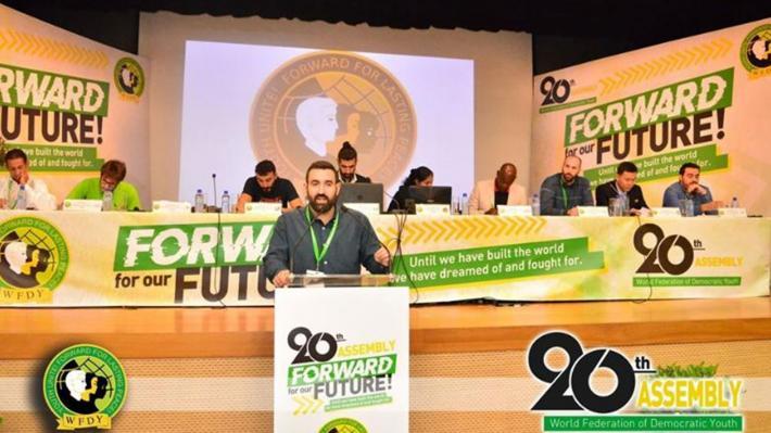Η ομιλία της ΚΝΕ στην 20η Γενική Συνέλευση της ΠΟΔΝ