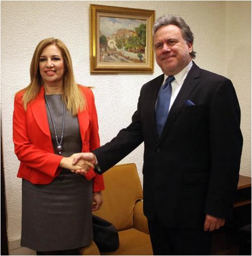 Συμβούλιο Εξωτερικής Πολιτικής ΣΥΡΙΖΑ ΠΑΣΟΚ ΚΙΝΑΛ