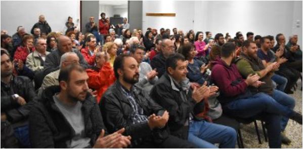 ΤΕ Λάρισας του ΚΚΕ εκδήλωση στο ΕΚ με τον Ομάρ Κουότα