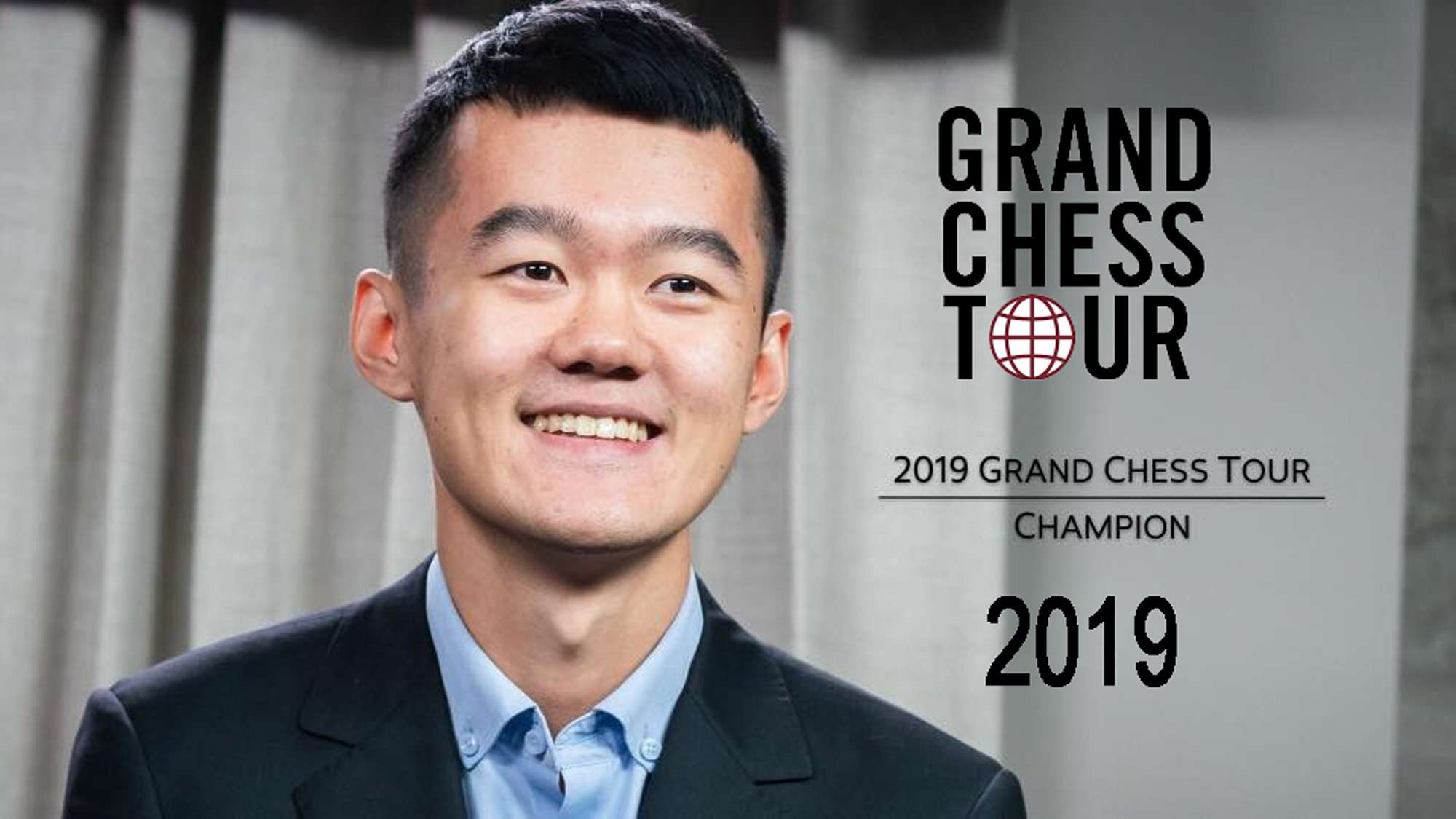 2019 Grand Chess Tour Ding Liren winner