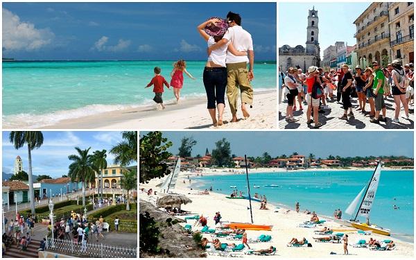 Al menos 4 millones de turistas arriban a Cuba en 2019