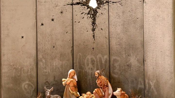 «Η ουλή της Βηθλεέμ»: Έργο του Banksy