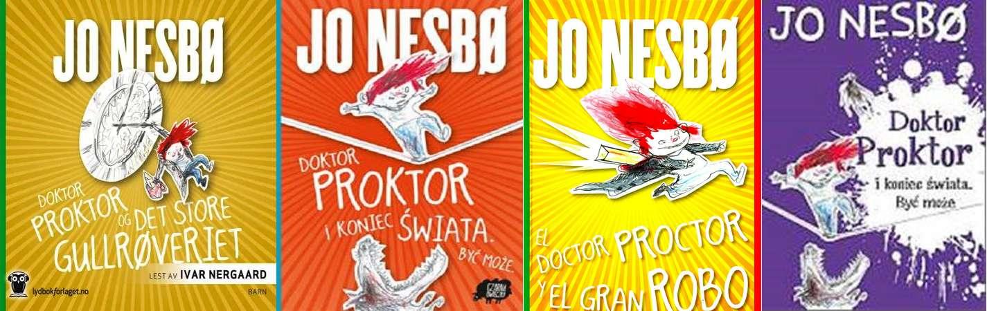 Doktor Proktor Nesbo Jo