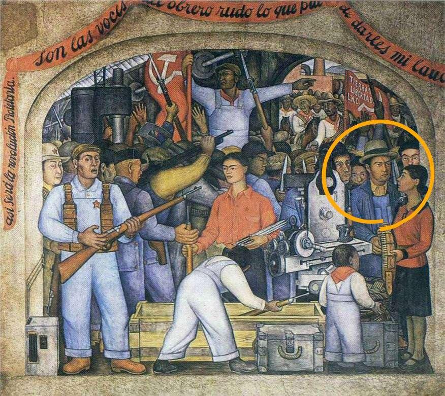 Tina Modotti En el Arsenal» Diego Rivera Vittorio Vidale Comandante Carlos