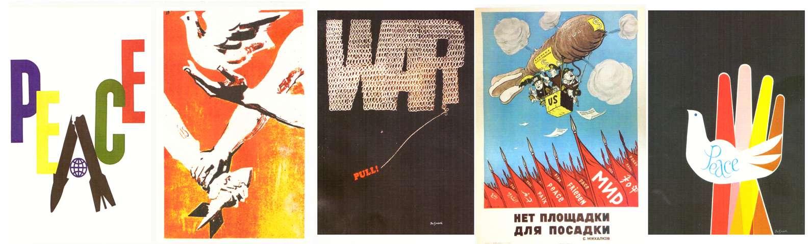 slide Κόκκινο Αερόστατο ειρήνη 15 αφίσες