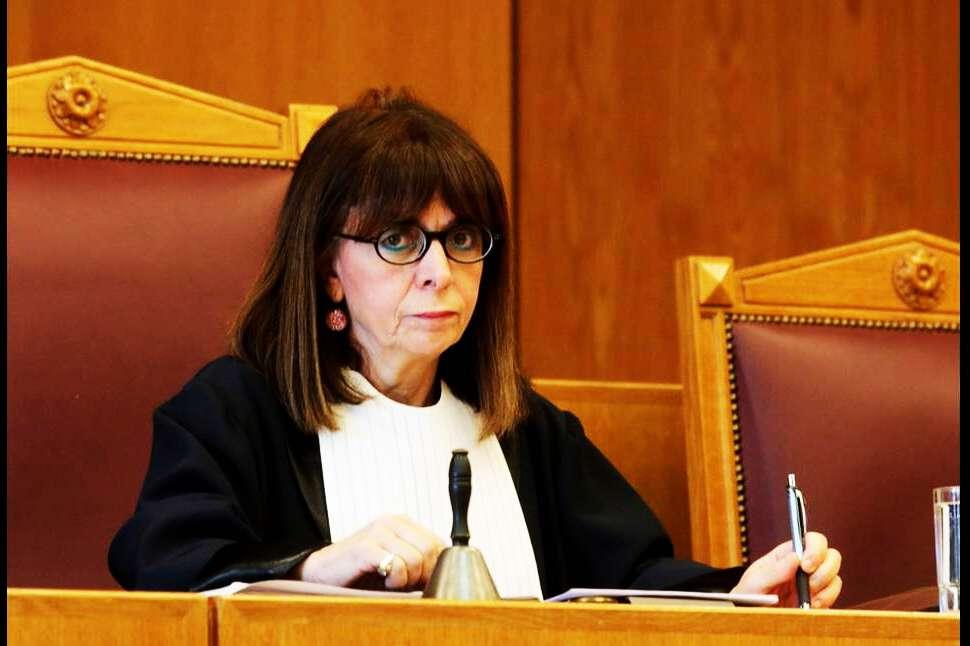 Κατερίνα Σακελλαροπούλου Πρόεδρος Δημοκρατίας.