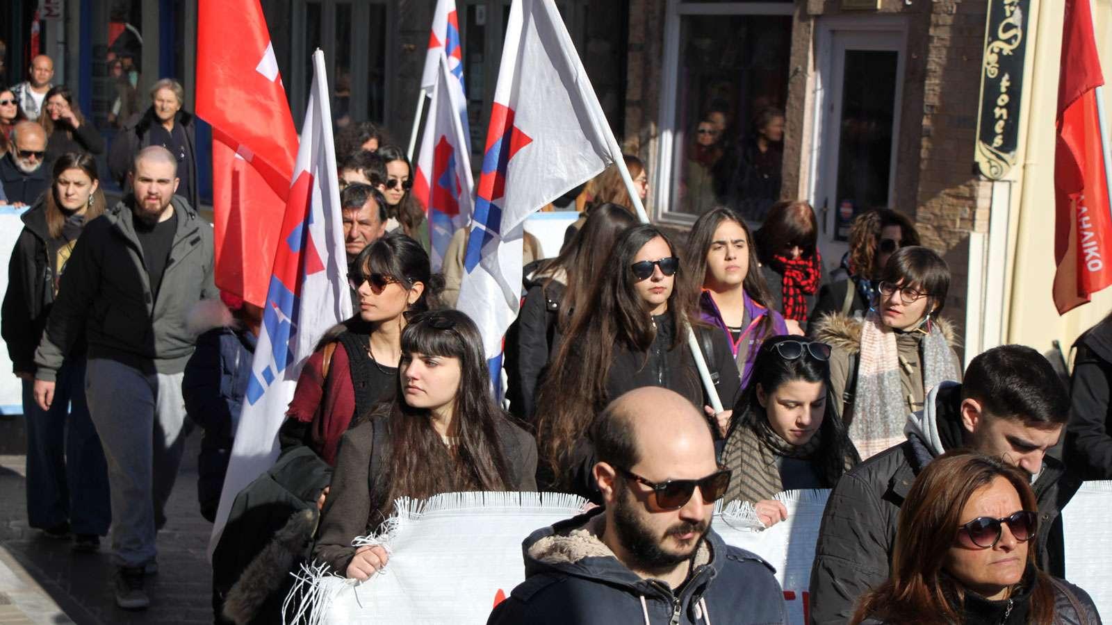 ΣΑΜΟΣ ΧΙΟΣ Συγκεντρώσεις ενάντια στην πολιτική του εγκλωβισμού και της καταστολής προσφύγων και μεταναστών 6