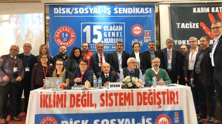 ΠΑΜΕ Συνέδριο Ομοσπονδίας SosyalIs Τουρκίας