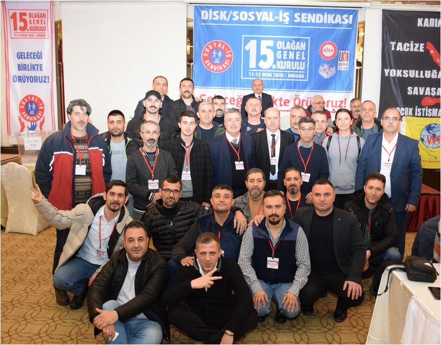 ΠΑΜΕ Συνέδριο της Ομοσπονδίας SosyalIs Τουρκίας