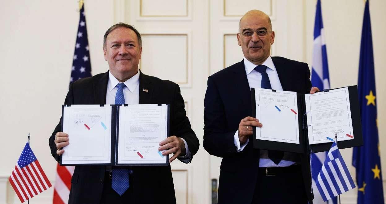 Πρωτόκολλο Τροποποίησης Συμφωνίας Αμοιβαίας Αμυντικής Συνεργασίας Ελλάδας ΗΠΑ κατάπτυστη Συμφωνία ΝΔ Δένδιας Πομπέο