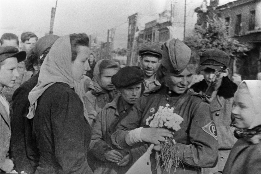 Auschwitz Απελευθέρωση από τον Κόκκινο Στρατό