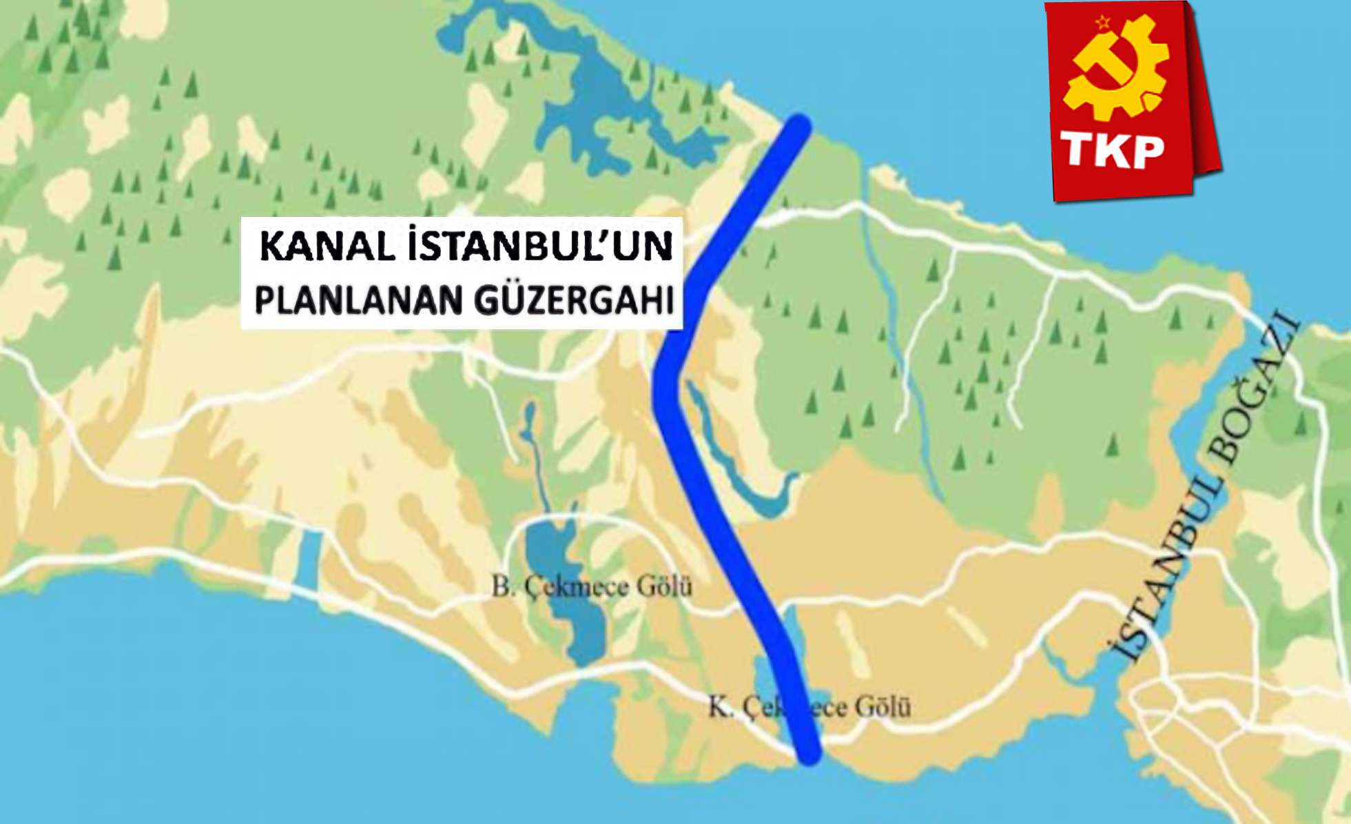 Canal Istanbul TKP