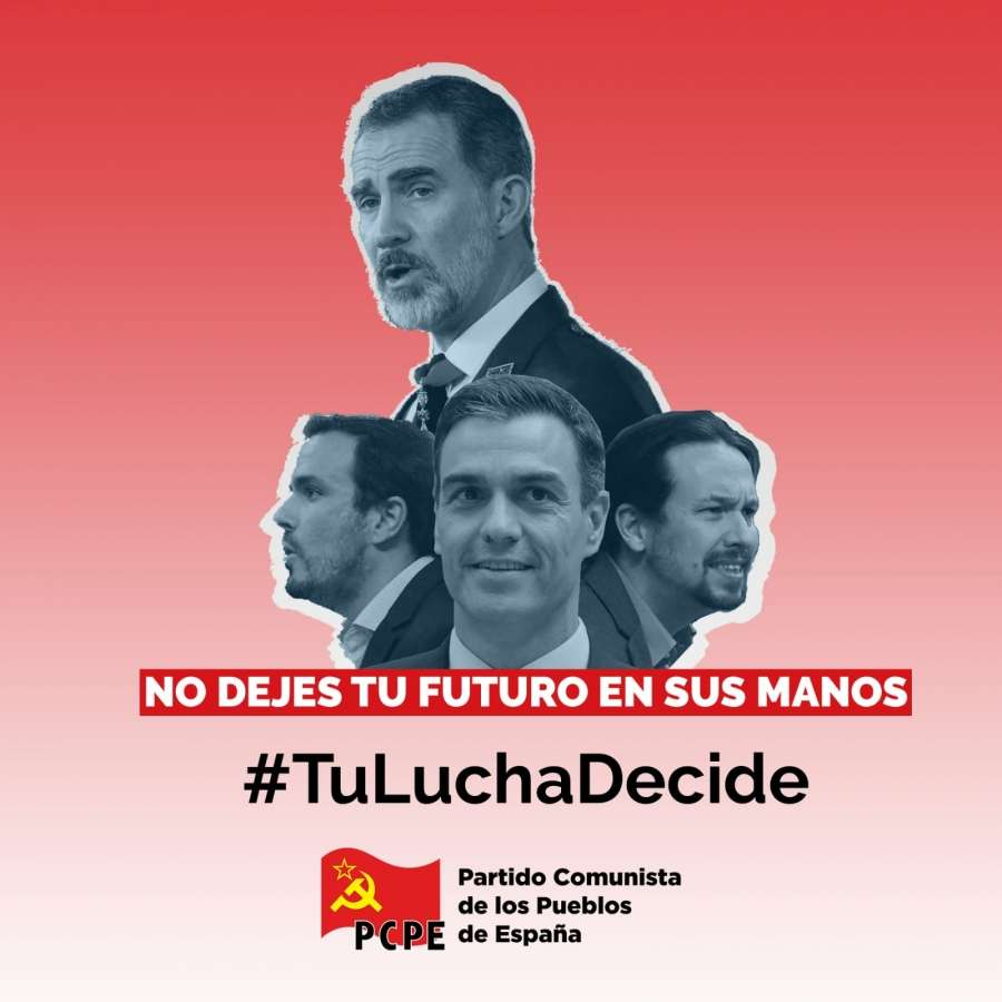 Gobierno Socialdemócrata última esperanza de la burguesía para tratar de superar su profunda crisis