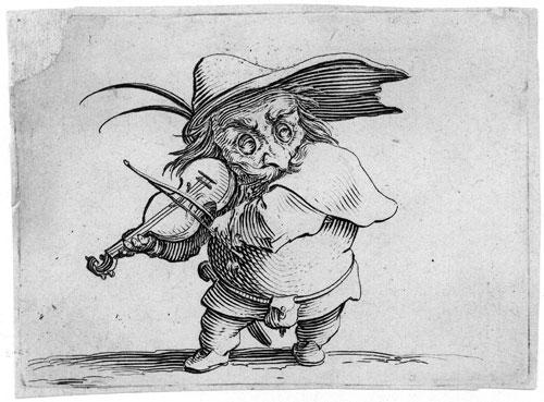 Jacques Callot Les Gobbi Le joueur de violon