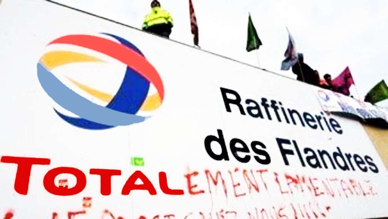 Les six raffineries de Total en grève illimitée