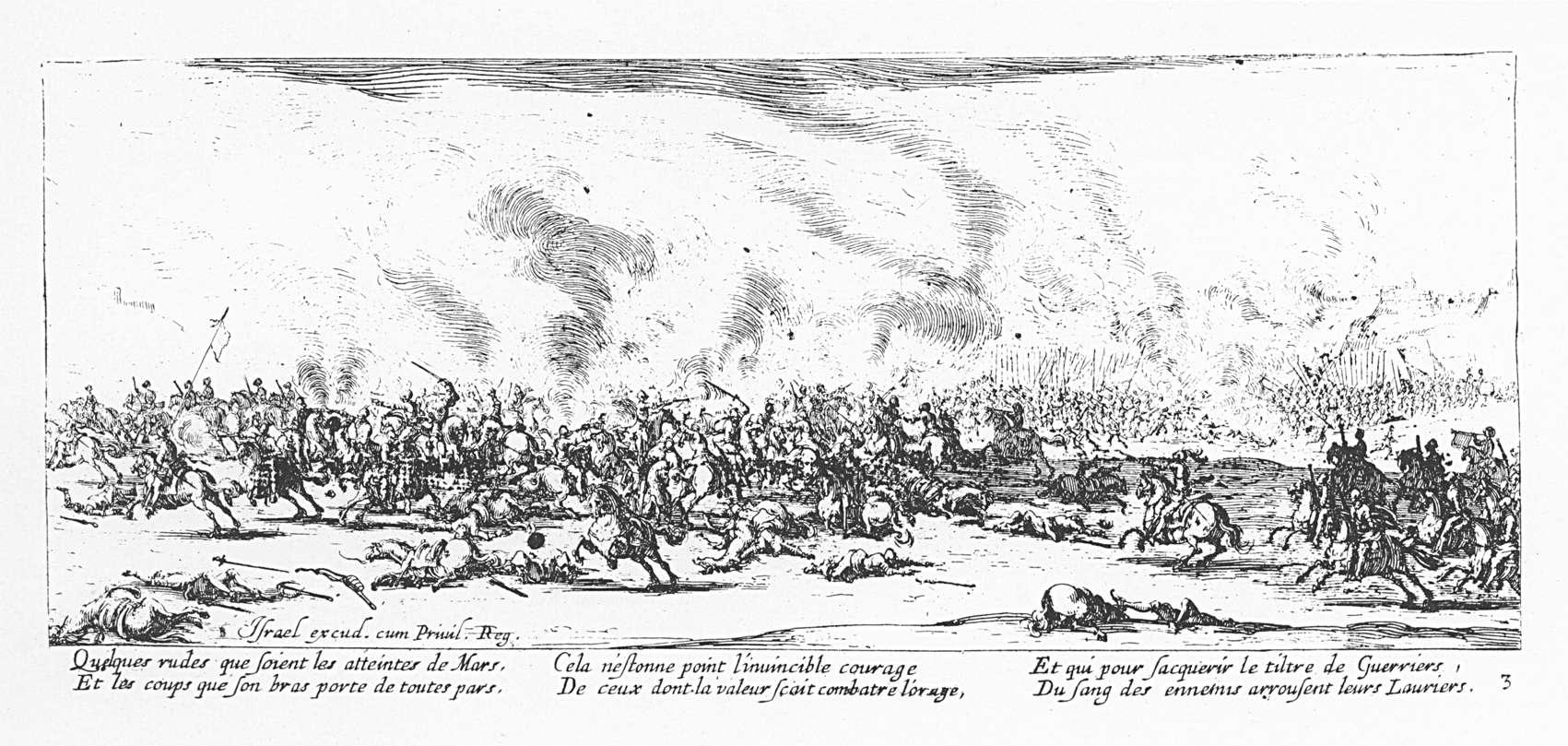 Les misères et les malheurs de la guerre 03 La bataille