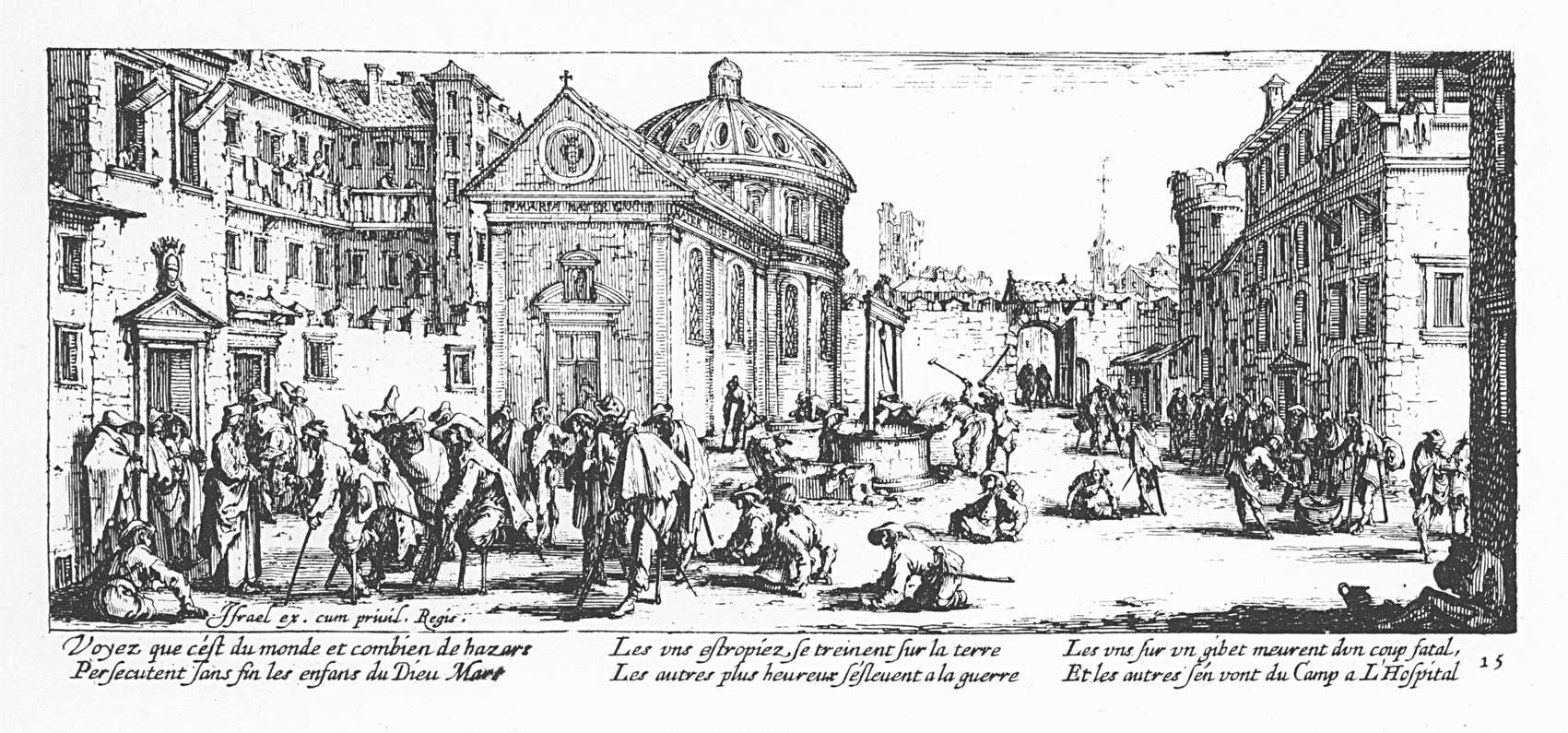 Les misères et les malheurs de la guerre 15 Lhôpital