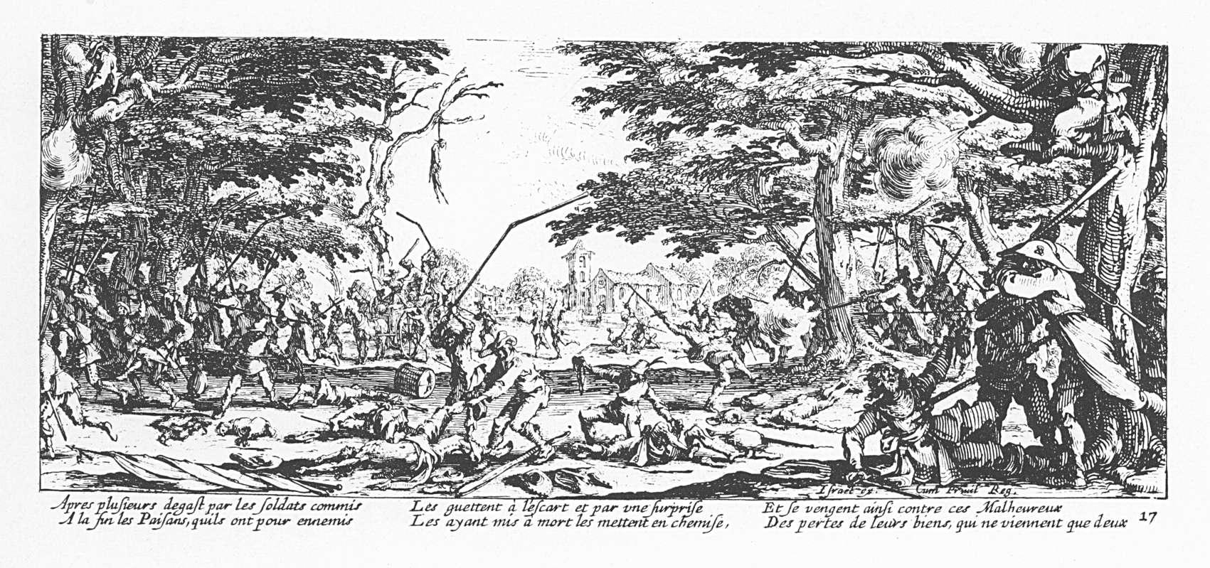 Les misères et les malheurs de la guerre 17 La revanche des paysans