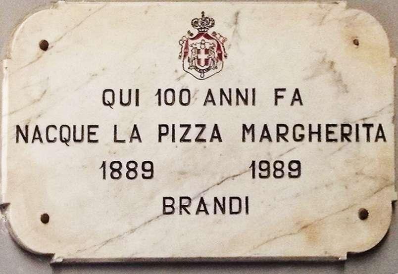 Pizza Margherita tabella