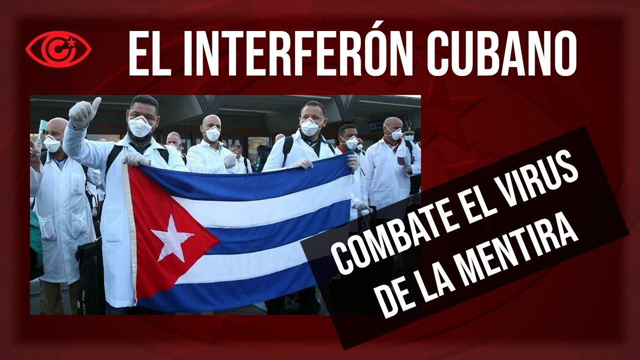 Interferón cubano frente al virus de la mentira