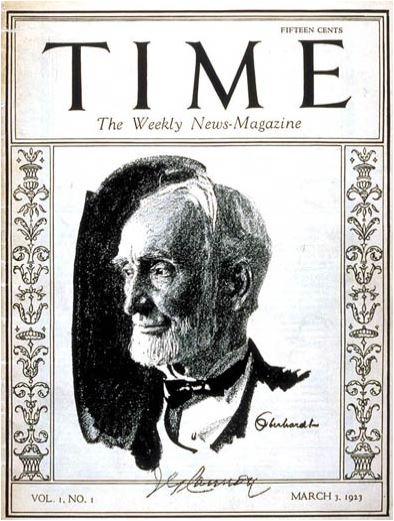 Time Joseph G Cannon Mar. 3 1923