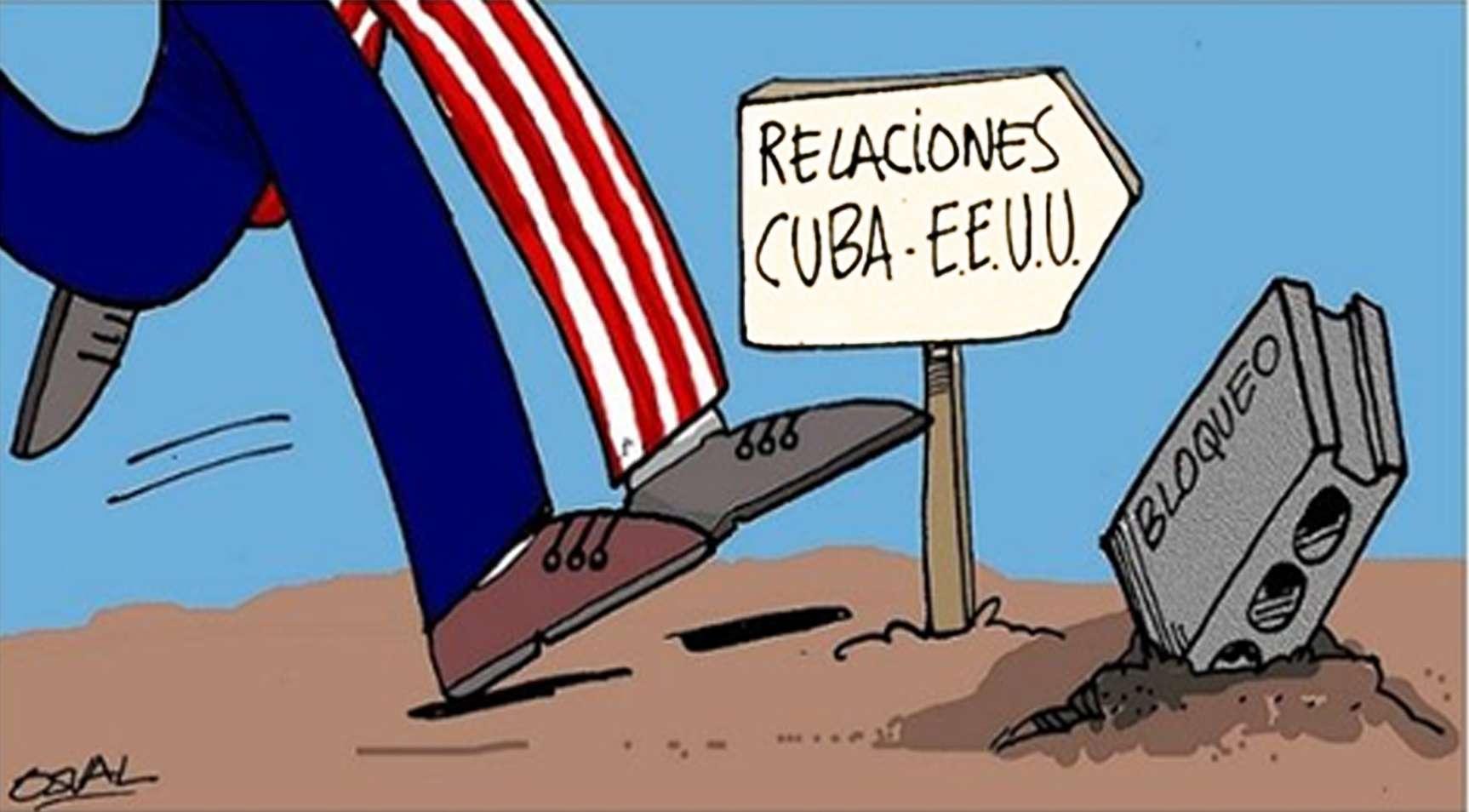 Historia Cuba denuncia el bloqueo de EE UU