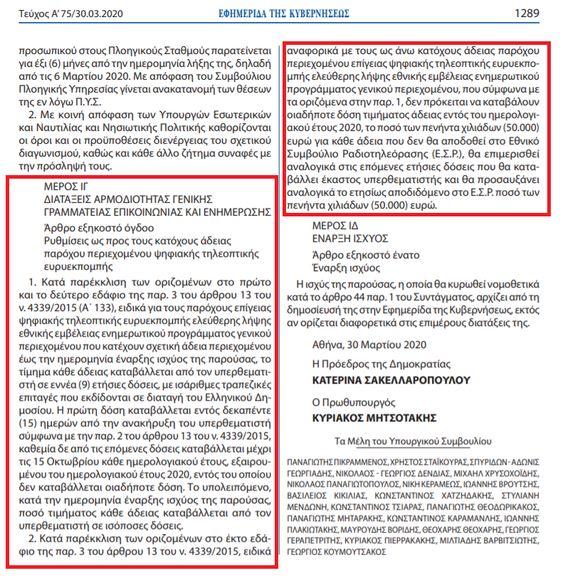 Ελέγχοντας πολύπλευρα την ενημέρωση (Ορισμένα συμπεράσματα στην περίοδο της πανδημίας)