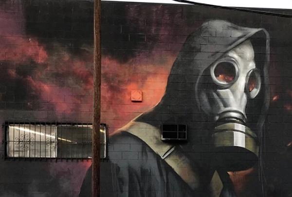 graffiti Rasmus Balstroem Los Angeles
